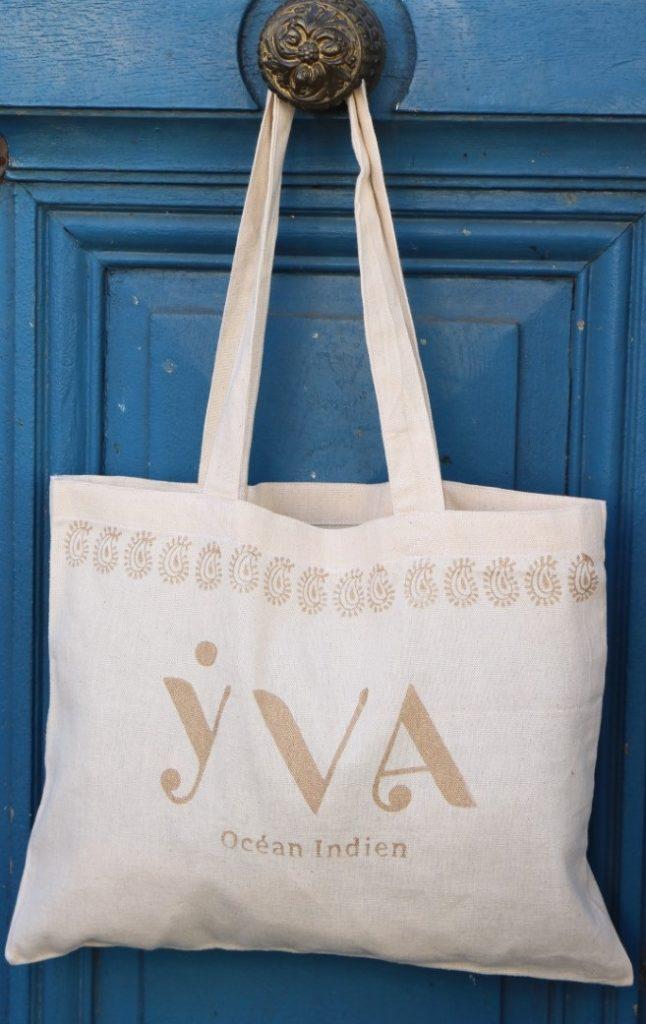 tote bag solidaire YVA Océan Indien