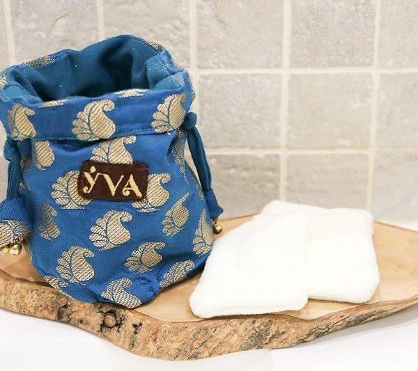 kit démaquillant bleu YVA