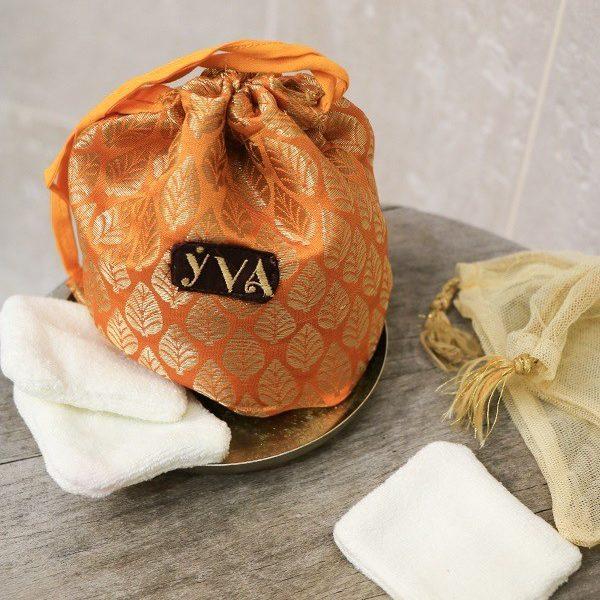 kit démaquillant orange YVA