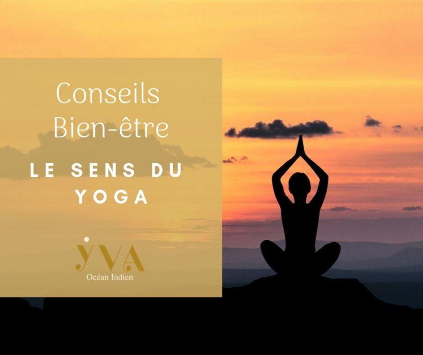 le sens du yoga